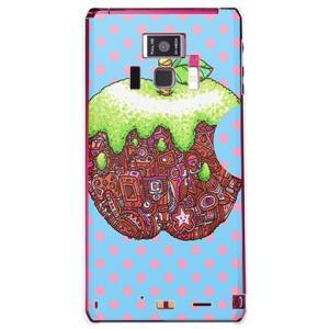 REGZA Phone T-01D あっぷる クリア 326 ミツル 19