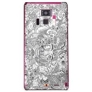 REGZA Phone T-01D 混沌 クリア 326 ミツル 19