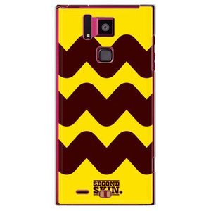 REGZA Phone T-02D BROWN クリア