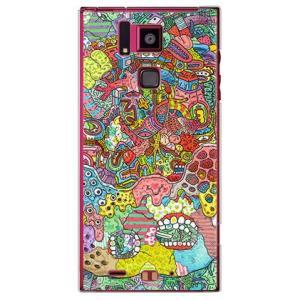 REGZA Phone T-02D 動く心臓 クリア 326 ミツル 19