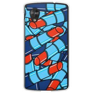 ネクサス5 ケース Google Nexus 5 EM01L リップ 口紅 コスメ デザイン 化粧品 ルージュ レッド|isense
