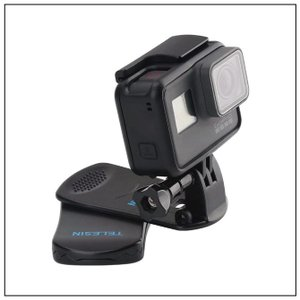 【2/22-25までのお得なセール】TELESIN 360°回転式 クリップマウント GoPro H...