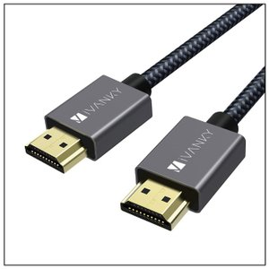 HDMI to HDMI ケーブル【iVanky】【VBA12】【2m】【4K@60Hz】【Grey...