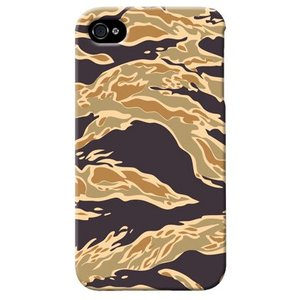 iphone4s カバー iPhone 4S ケース カバー タイガー 迷彩 カモフラ ミリタリー サバゲー 軍モノ TYPE3|isense
