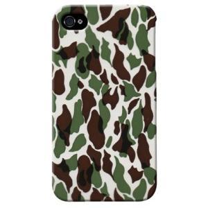 iphone4s カバー iPhone 4S ケース カバー ウッドランド 迷彩 カモフラ ミリタリー サバゲー 軍モノ TYPE3|isense