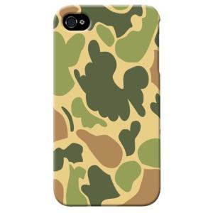 iphone4s カバー iPhone 4S ケース カバー ウッドランド 迷彩 カモフラ ミリタリー サバゲー 軍モノ TYPE6|isense