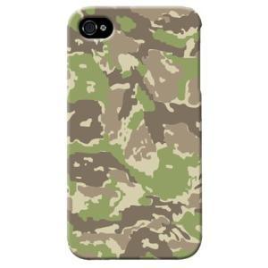 iphone4s カバー iPhone 4S ケース カバー ウッドランド 迷彩 カモフラ ミリタリー サバゲー 軍モノ TYPE4|isense