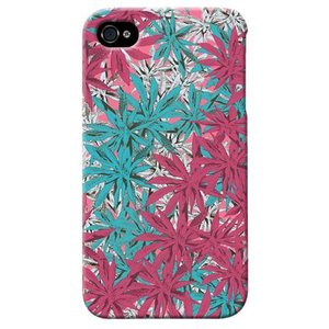 iphone4s カバー iPhone 4S ケース カバー マリファナ 迷彩 カモフラ ミリタリー サバゲー 軍モノ マルチカラー|isense