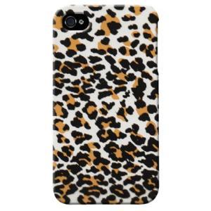 iphone4s カバー iPhone 4S ケース カバー ヒョウ 豹 ひょう柄 レオパード TYPE2|isense
