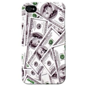 iphone4s カバー iPhone 4S ケース カバー ドル紙幣 ドル札柄|isense