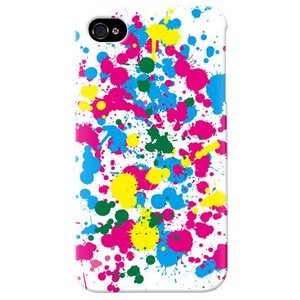 iphone4s カバー iPhone 4S ケース カバー ドリップ ホワイト|isense