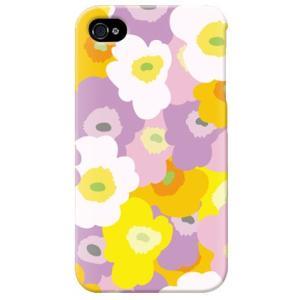 iphone4s カバー iPhone 4S ケース カバー 花柄ケース フラワー柄 フラワー TYPE B|isense