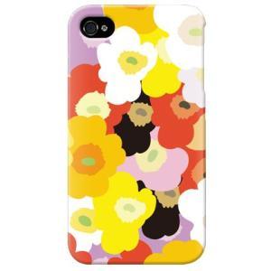 iphone4s カバー iPhone 4S ケース カバー 花柄ケース フラワー柄 フラワー TYPE C|isense