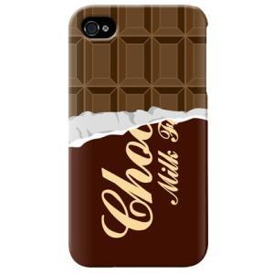 iphone4s カバー iPhone 4S ケース カバー チョコケース チョコカバー バレンタイン チョコレート|isense