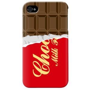 iphone4s カバー iPhone 4S ケース カバー チョコケース チョコカバー バレンタイン カカオチョコレート|isense