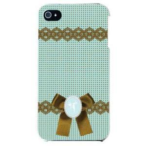 iphone 4s ケース iphone4s カバー アイフォン4s ドット カメオ グリーン|isense