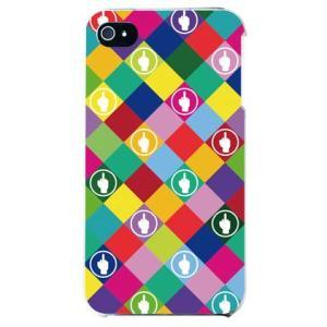 iphone4s カバー iPhone 4S ケース カバー F rhombuses マルチ|isense