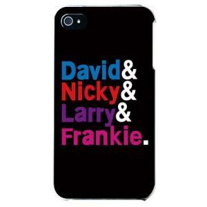 iphone4s カバー iPhone 4S ケース カバー Legend DJ's ブラック マルチ|isense