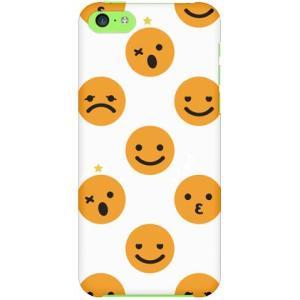 iPhone 5c ケース カバー Smiley