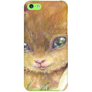 iPhone 5c ケース カバー Squirrel