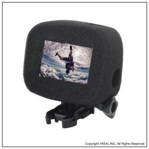 GoPro HERO 7 6 5 対応 防風 gopro 防風ケース 風防 マイク 風きり音防止 防風カバー 騒音防止 録音ノイズ対策 isense 03