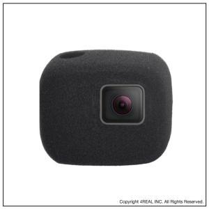 GoPro HERO 7 6 5 対応 防風 gopro 防風ケース 風防 マイク 風きり音防止 防風カバー 騒音防止 録音ノイズ対策 isense 04