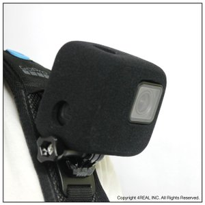 GoPro HERO 7 6 5 対応 防風 gopro 防風ケース 風防 マイク 風きり音防止 防風カバー 騒音防止 録音ノイズ対策 isense 08