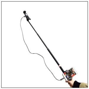【期間限定特価】DJI Osmo Pocket / GoPro / アクションカメラ 対応 自撮り棒...
