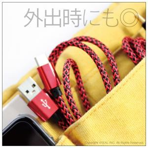 スマホ 充電 ケーブル Type-C 2m ヘリンボーン isense 05