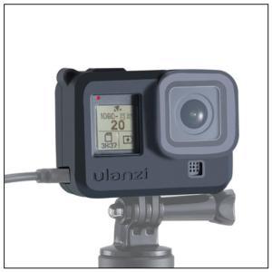 GoPro Hero 8専用 ネックストラップ付き シリコン保護ケース【Ulanzi】【G8-3】【...
