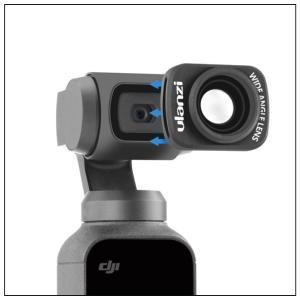 DJI Osmo Pocket 専用 マグネット式で簡単に脱着可能な広角レンズ 【ulanzi】【OP-5】【YP】 isense 03