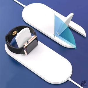 Qi 同時充電 急速充電 ミニ エアパワー ワイヤレス チャージャー Apple Watch|isense|04