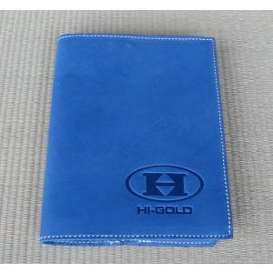 カラー:ブルー  素材:天然皮革