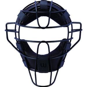 ウィルソン高校野球対応【ハイゲージ】硬式審判用チタンフレームマスク【収納袋・オリジナルタオル付】|iseshinpanhonpo