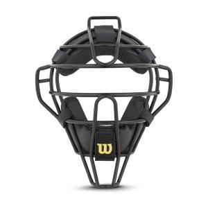 ウィルソンNPB仕様 硬式審判用スチールフレームマスク【収納袋・オリジナルタオル付】|iseshinpanhonpo