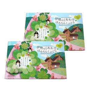 伊勢志摩の名所をイメージしたパッケージでお土産に人気 四葉のクローバー型の伊勢茶使用ほろっとやわらか...