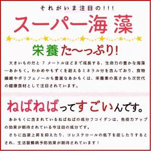 あかもく ギバサ70g×15パック アカモク 伊勢志摩産 送料無料 海藻 冷凍 isesima 03