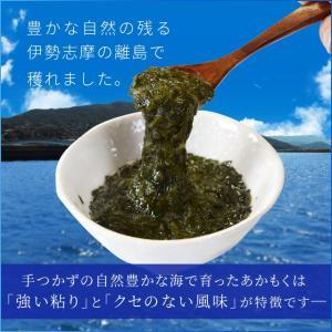 離島 あかもく 90g×10パック 伊勢志摩産 送料無料 アカモク ギバサ 海藻 冷凍 チューブ タイプ|isesima|02