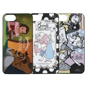 ディズニーアニメーション『美女と野獣』 iPhone8/7/6s/6対応 ハードケース DN-427|isfactory