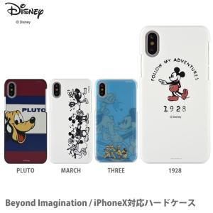 ディズニー Beyond Imagination iPhoneX対応ハードケース|isfactory
