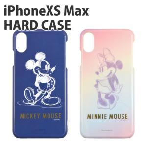 ディズニーキャラクター / iPhoneXS MaX対応ハードケース DN-557|isfactory