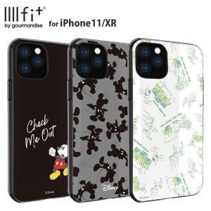 ディズニーキャラクター ミッキー IIIIfit iPhone11/XR 対応ケース New iPhone 6.1inch かわいい キャラクター|isfactory