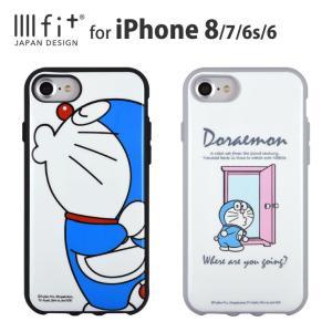 IIIIfit(イーフィット) ドラえもん iPhone8/7/6s/6対応ケース|isfactory