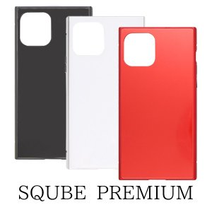 iPhone11 Pro New iPhone 2019 5.8inch専用 SQUBE PREMIUM CASE シンプル マグネット|isfactory