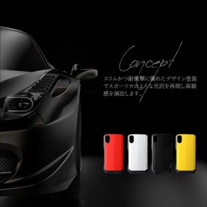 iPhoneXR 耐衝撃ハイブリッドケース「LEGGERA」|isfactory