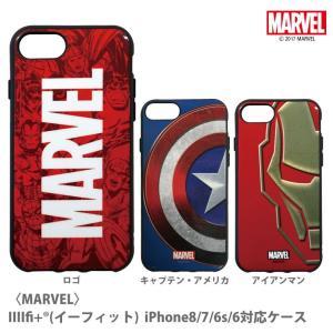 IIIIfit(イーフィット) MARVEL iPhone8/7/6s/6対応ケース|isfactory