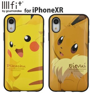 IIIIfit(イーフィット) ポケットモンスター ポケモン iPhoneXR対応ケース POKE-605|isfactory
