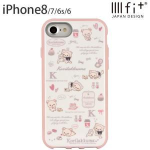 IIIIfit(イーフィット) リラックマ iPhone8/7/6s/6対応ケース キャット isfactory