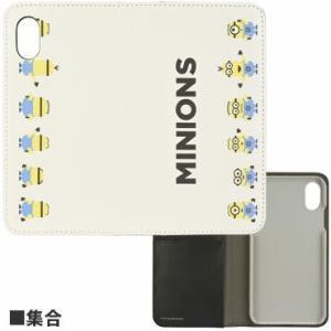 怪盗グルーシリーズ(ミニオン) iPhoneXR対応フリップカバー 集合 MINI-116B|isfactory