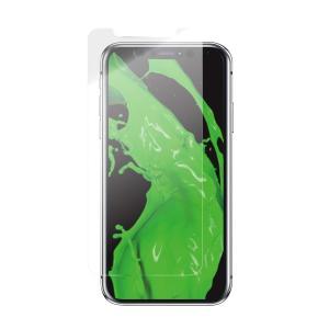 iPhoneXR ガラスフィルム  GLASS PREMIUM FILM  スタンダードサイズ マット・反射防止/0.33mm|isfactory